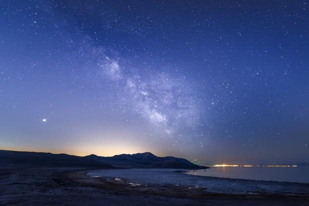 Antelope Island is Utah's newest Dark Sky Park (photo: Dan Ransom)
