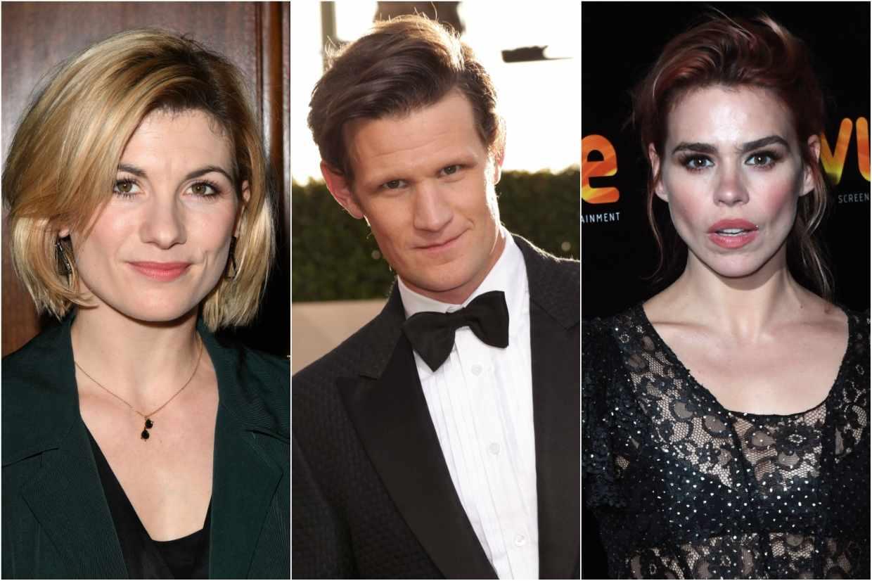 Jodie Whittaker, Matt Smith and Billie Piper