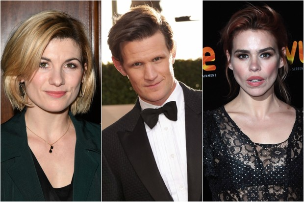 Jodie Whittaker, Matt Smith and Billie Piper