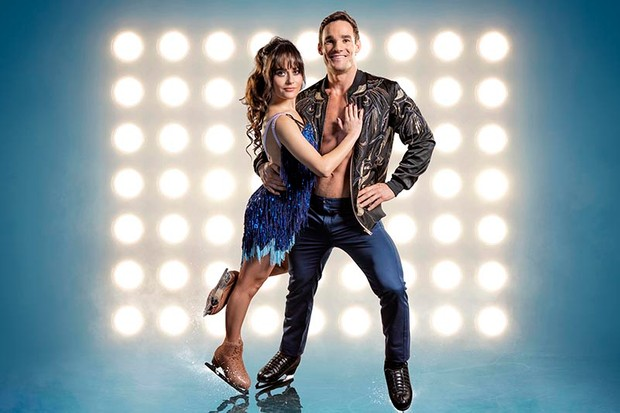 Max Evans and Ale Izquierdo in Dancing on Ice (ITV, HF)