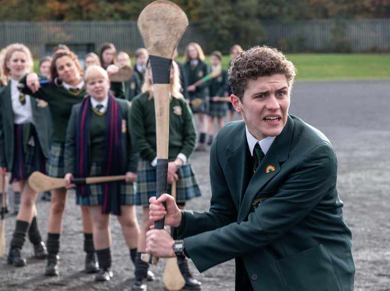 Derry Girls writer reveals James may join a rival gang in series three