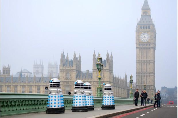 Daleks Westminster 2013