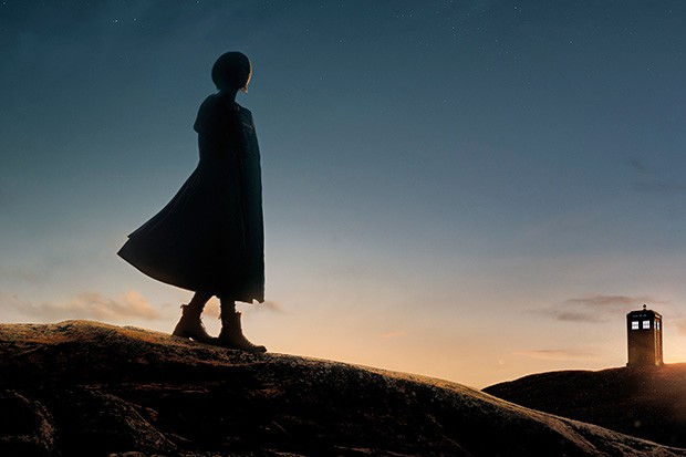 Jodie Whittaker Doctor Who silhouette crop