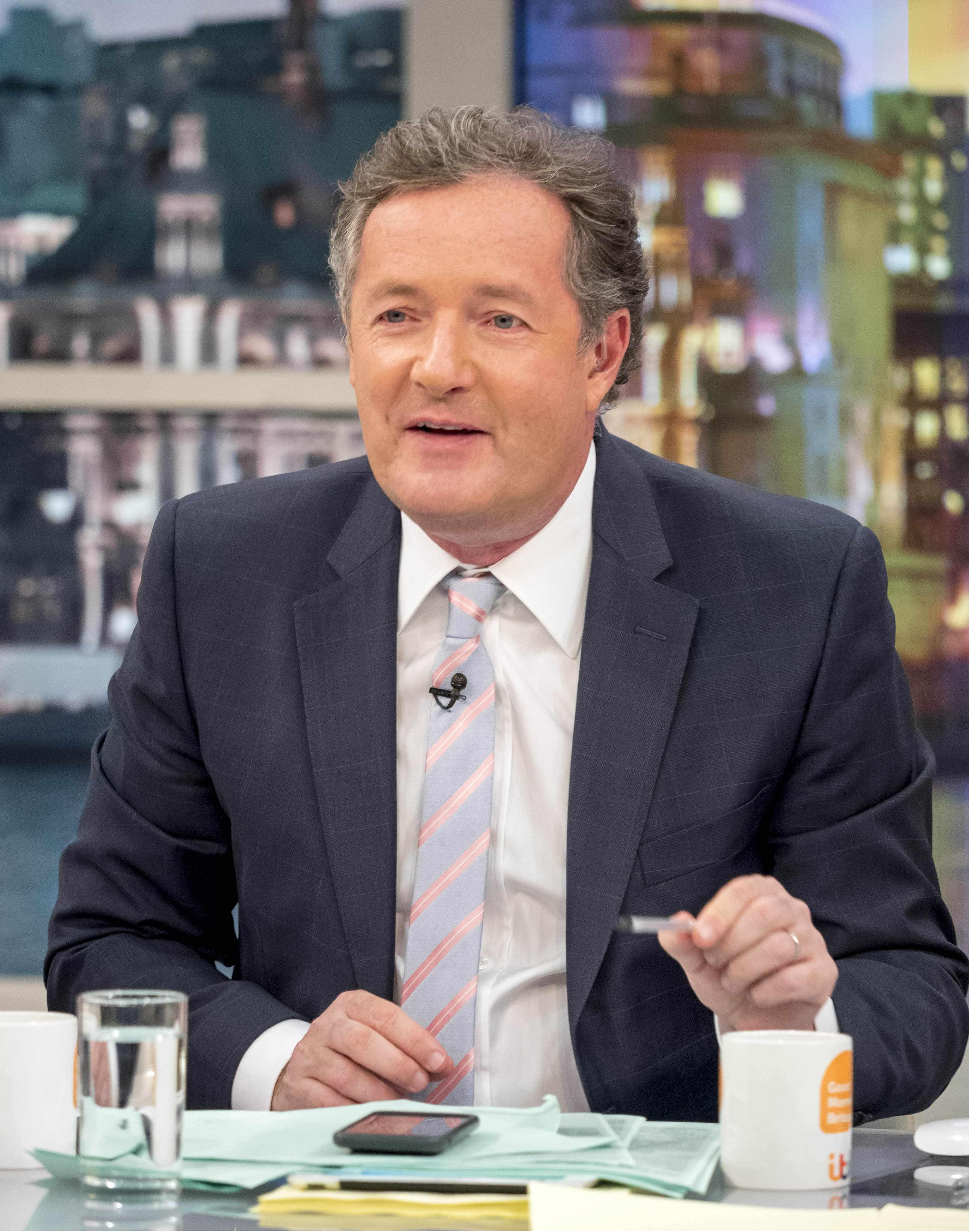 Piers Morgan, GMB (ITV, EH)