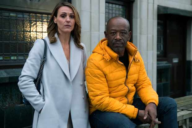 Suranne Jones and Lennie James, Save Me (Sky, EH)