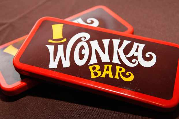 A view of Wonka Bars at the 40th Anniversary of Willy Wonka and The Chocolate Factory (Getty, JG)