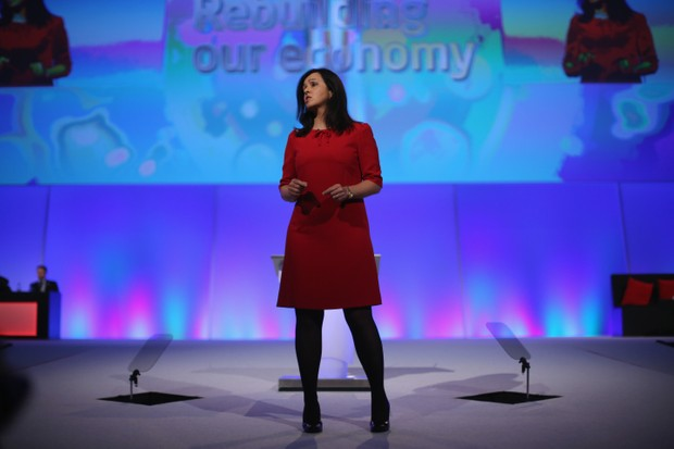 Flint at the Labour Party conference in 2012 (Getty, TL)
