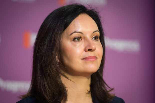 Labour MP Caroline Flint addresses delegates at the Progress annual conference in central London on May 16, 2015. AFP PHOTO / LEON NEAL        (Photo credit should read LEON NEAL/AFP/Getty Images)  Getty, TL