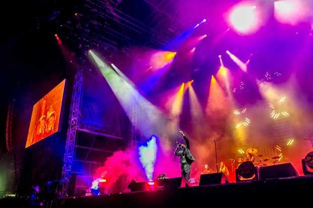 Maxi Jazz of Faithless headling V Festival