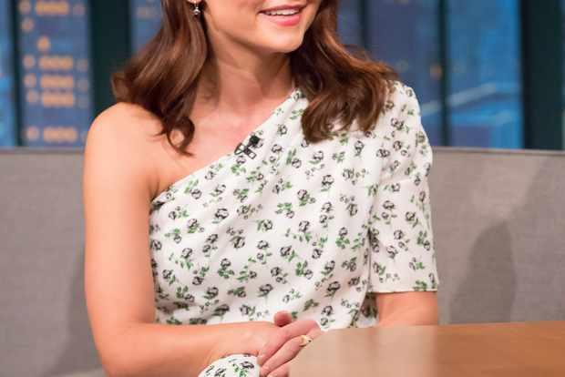 Jenna Coleman on Late Night with Seth Meyers - Season 5