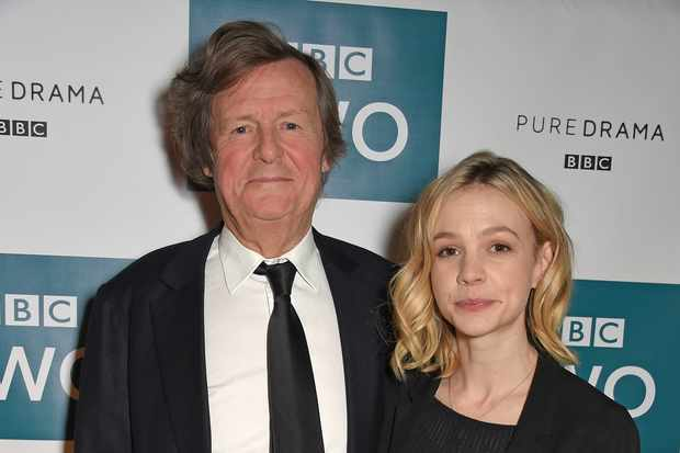 Sir David Hare and Carey Mulligan (Getty, TL)