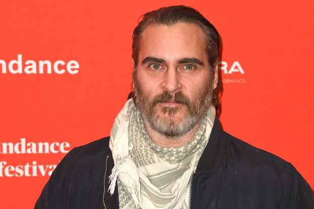 PARK CITY, UT - JANUARY 19:  Actor Joaquin Phoenix attends the 'Don't Worry, He Won't Get Far On Foot' Premiere during the 2018 Sundance Film Festival at Eccles Center Theatre on January 19, 2018 in Park City, Utah.  (Photo by C Flanigan/FilmMagic)