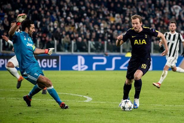 Harry Kane (Tottenham) during the Champions League match