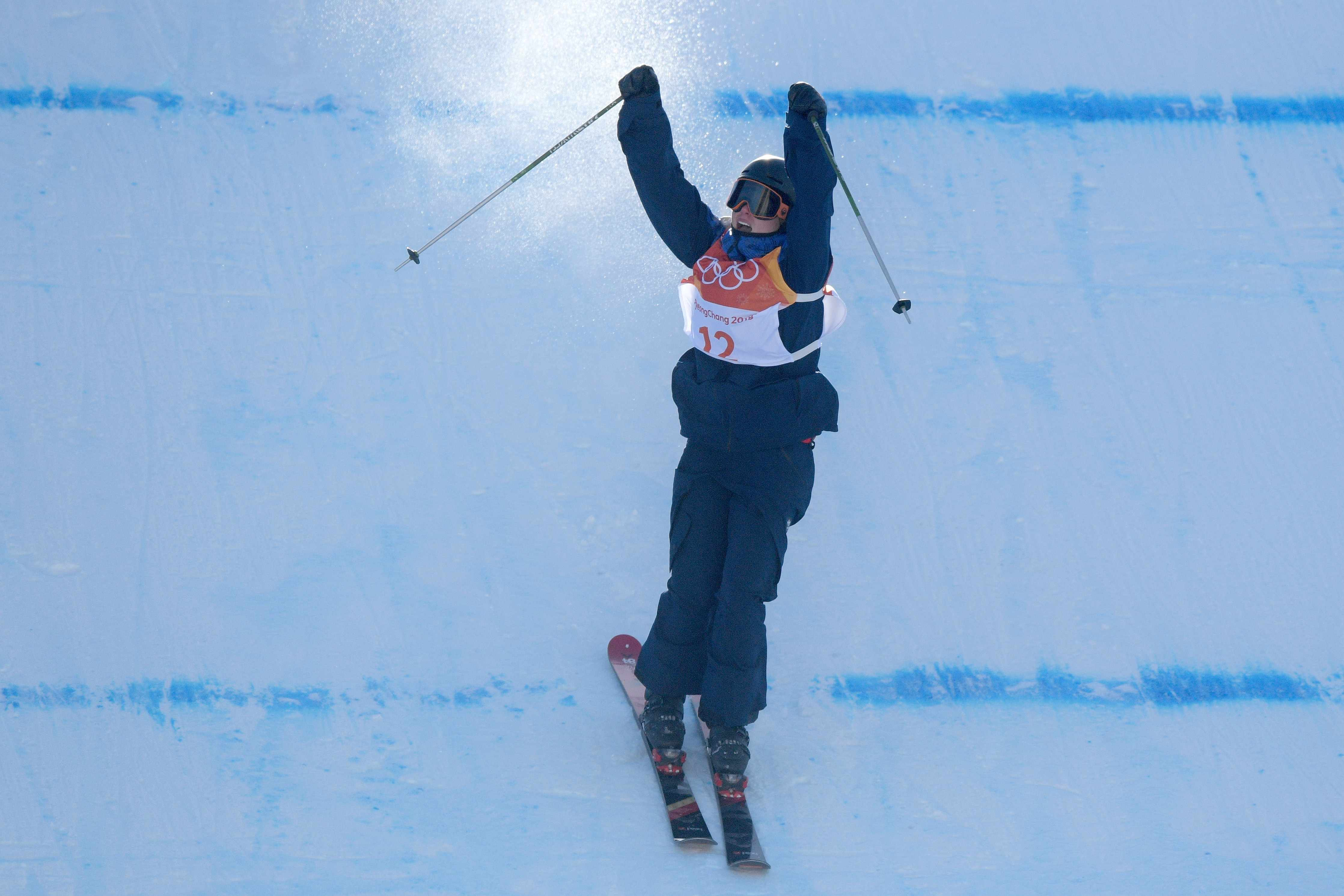 Izzy Atkin takes Team GB's first ever Winter Olympic medal on skis