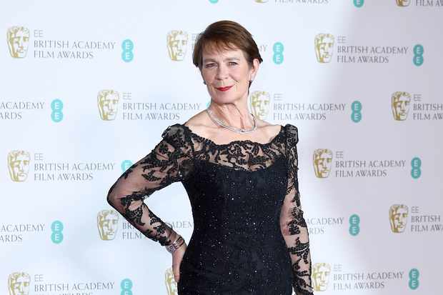 Celia Imrie at the EE British Academy Film Awards 2018