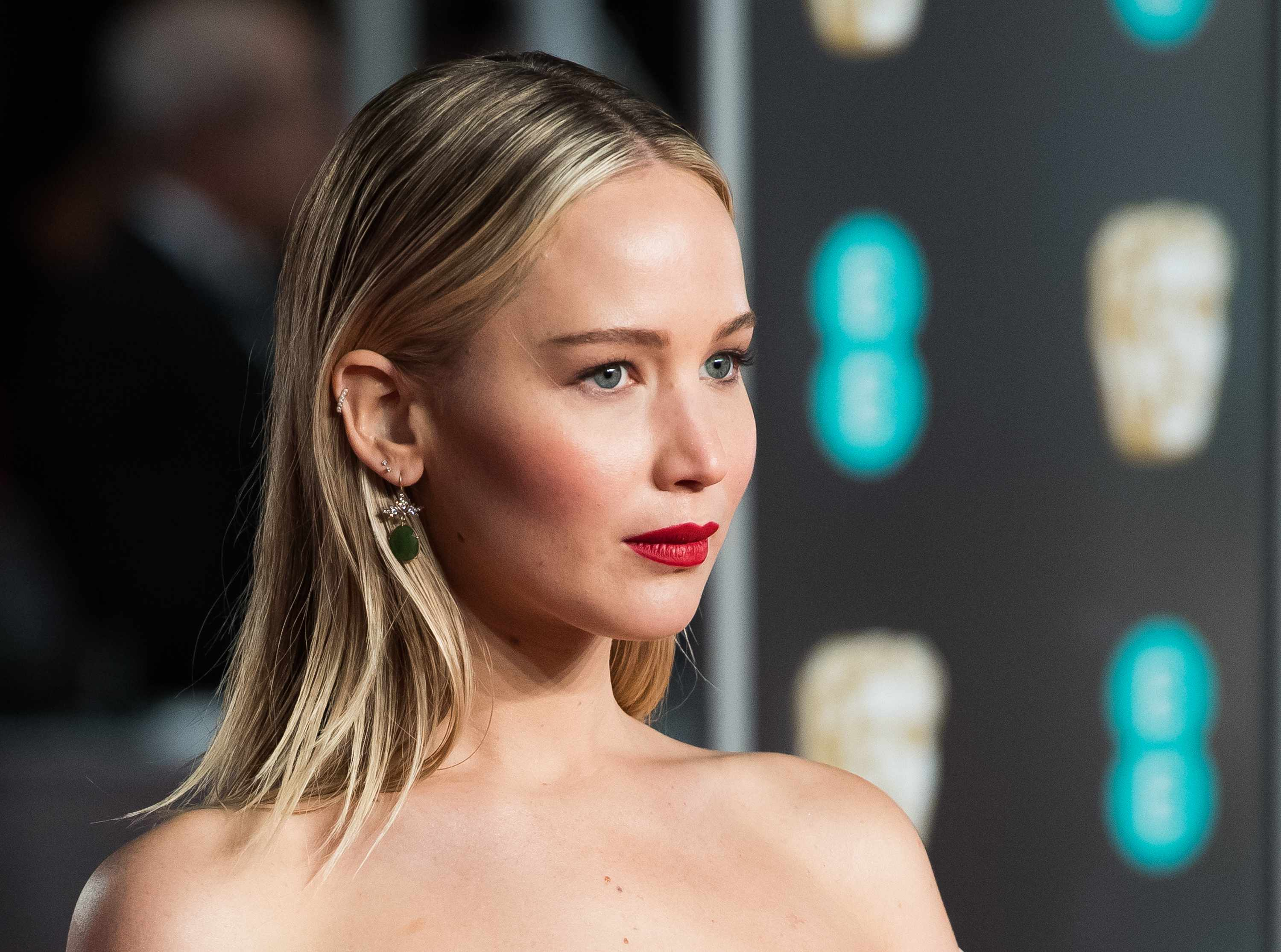 Jennifer Lawrence, Baftas 2018 (Getty, EH)