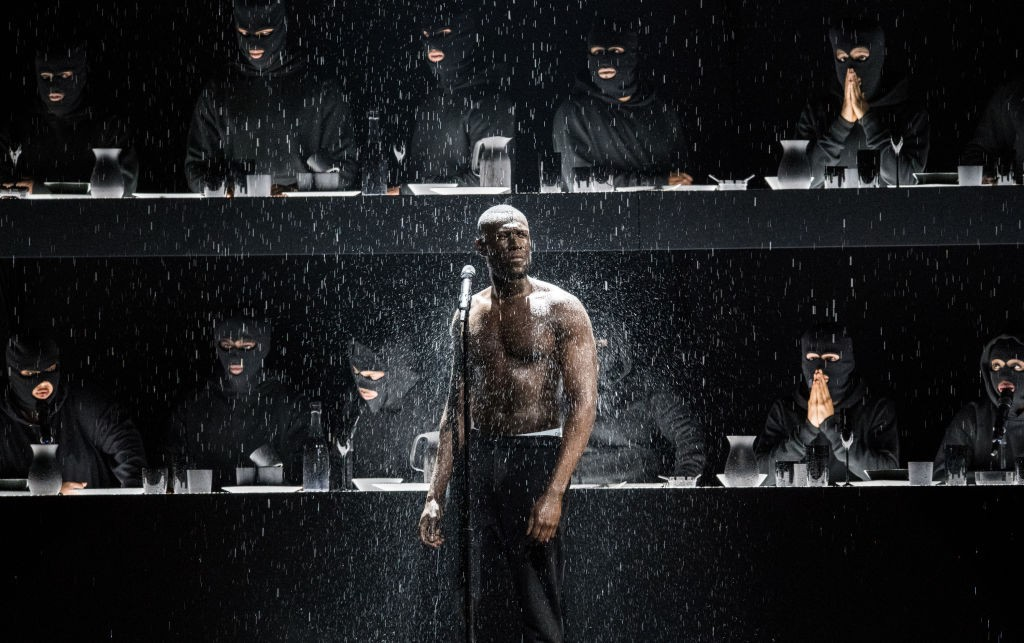 Stormzy performs at the 2018 Brit Awards (Getty, JG)