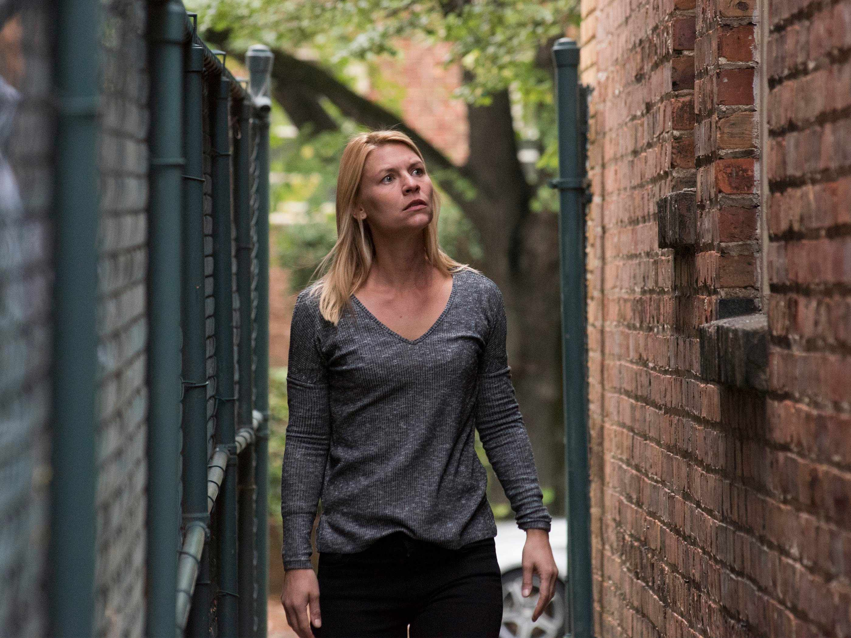 Claire Danes, Homeland (Channel 4, EH)