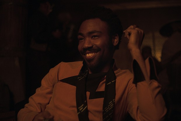 Donald Glover is Lando Calrissian in SOLO: A STAR WARS STORY (Lucasfilm, HF)