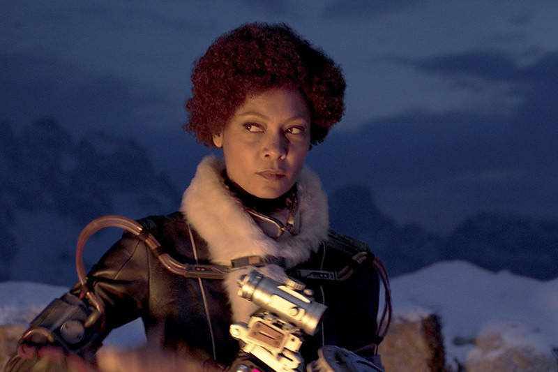Thandie Newton is Val in SOLO: A STAR WARS STORY (Lucasfilm, HF)