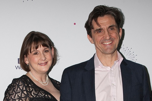 Heidi Thomas and Stephen McGann