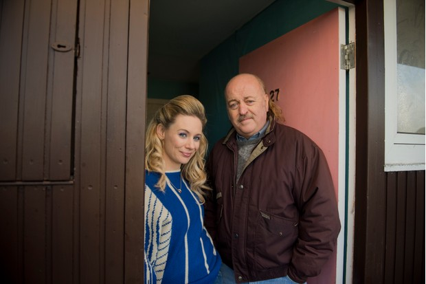 Bill Bailey and Kellie Shirley in Sky1's The Long Run
