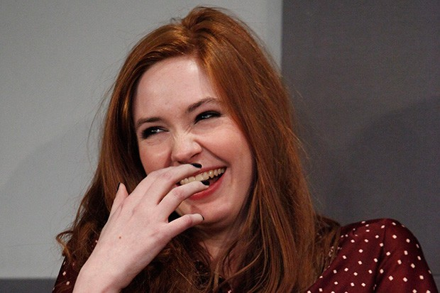 Karen Gillan laughing