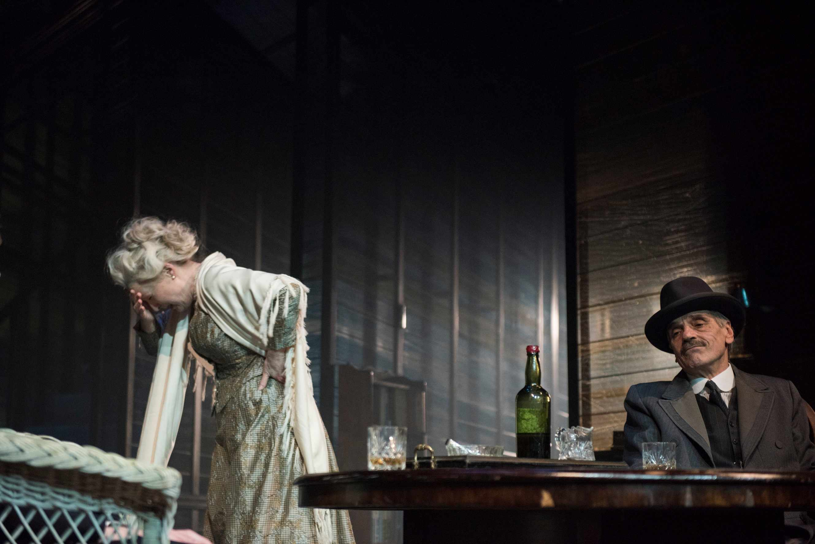 Long Day's Journey... theatre publicity still Lesley Manville, BD