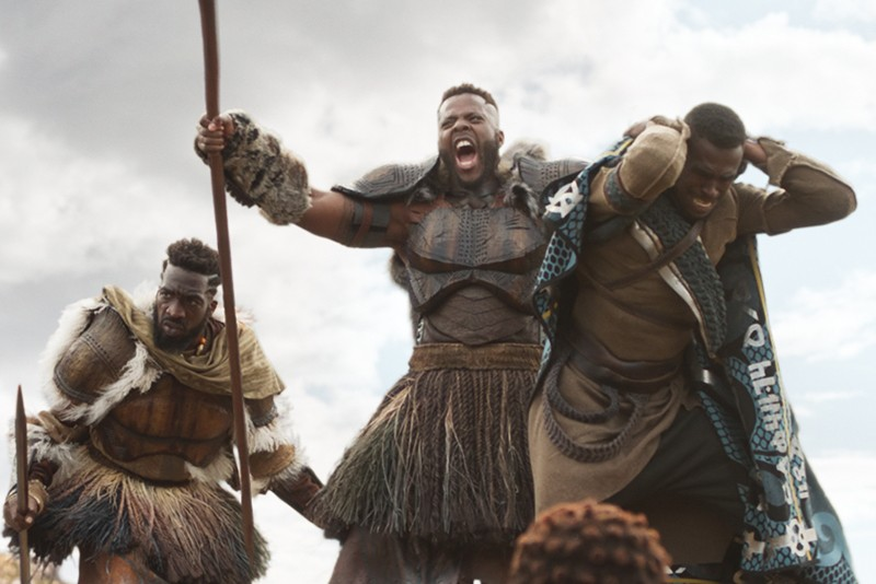 M'Baku (Winston Duke) in Black Panther (Marvel, HF)