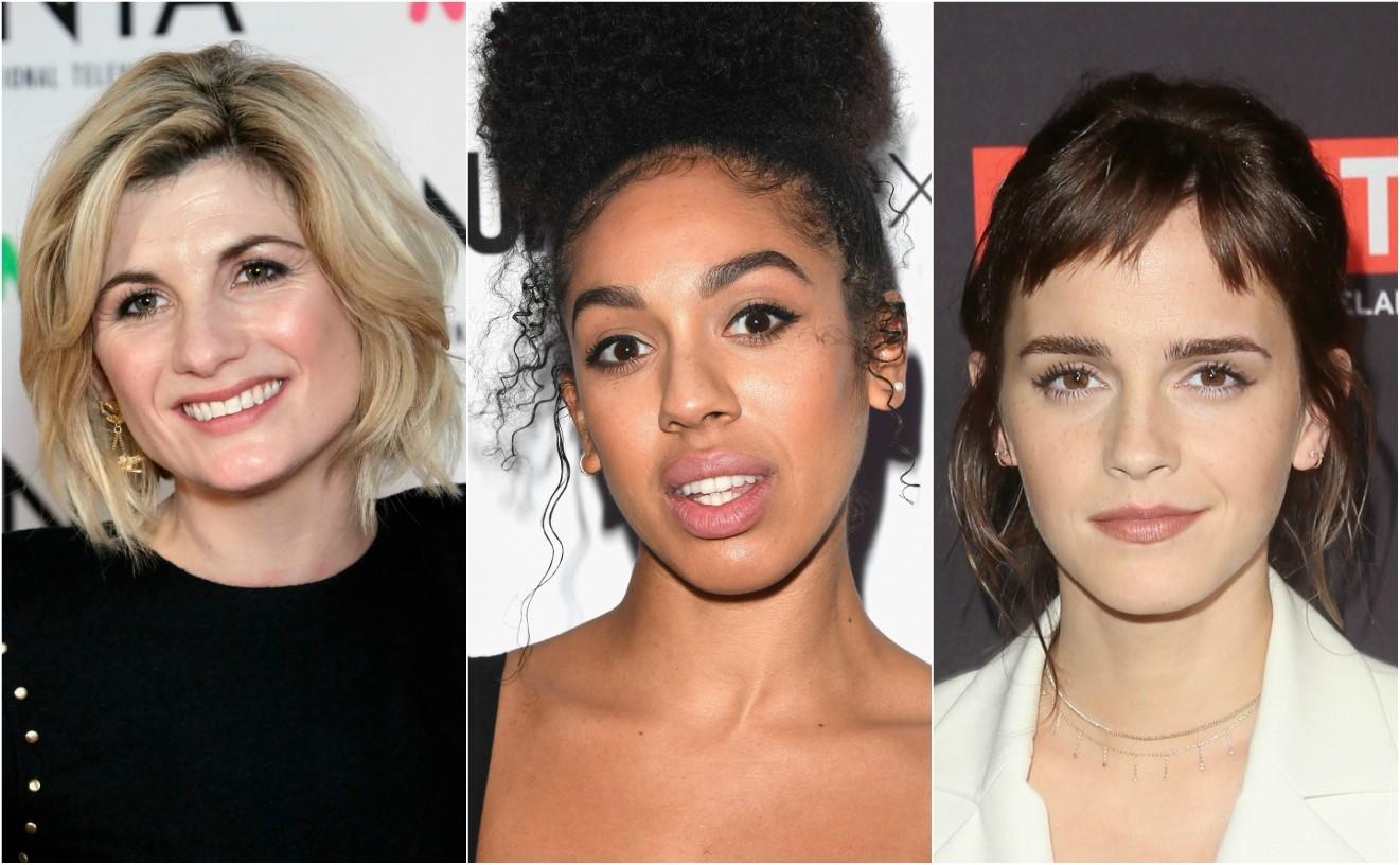 Jodie Whittaker, Pearl Mackie, Emma Watson Times Up