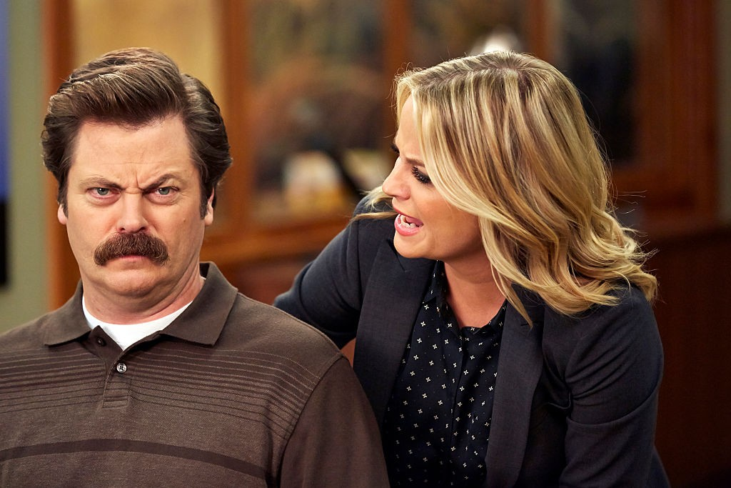 Parks and Recreation - Ron and Leslie