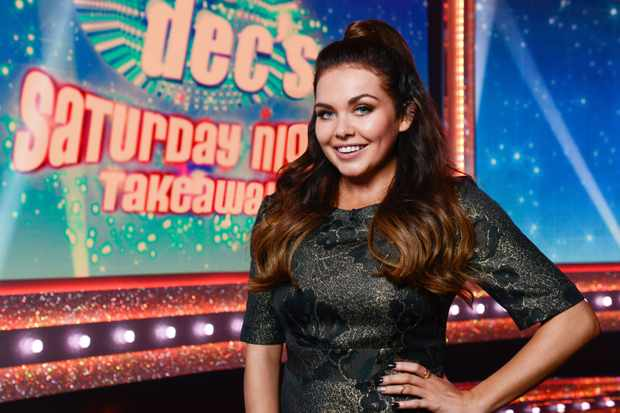Scarlett Moffatt on Ant and Dec's Saturday Night Takeaway