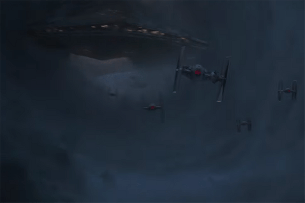 Imperial ships in Solo: A Star Wars story (Lucasfilm, HF)