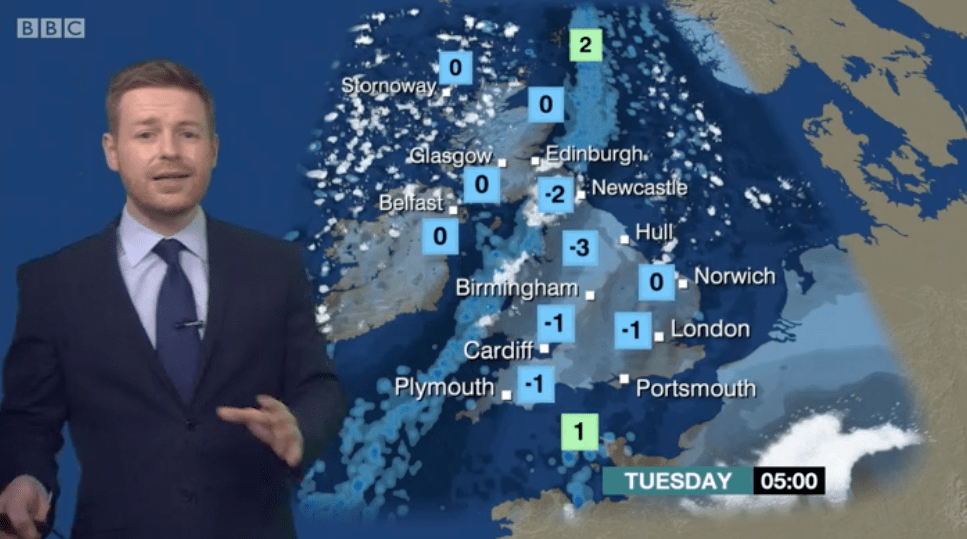 BBC Weather (BBC screenshot, EH)