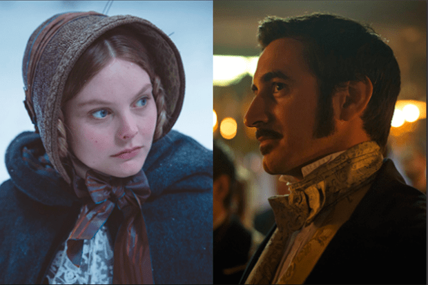 Nell Hudson and Ferdinand Kingsley in Victoria