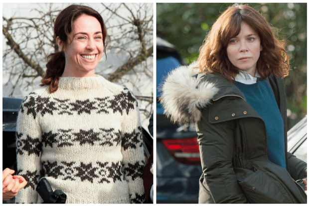 Sofie Grabol and Anna Friel (Getty, ITV, EH)