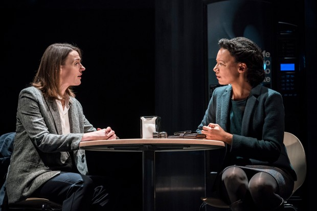 Suranne Jones and Nina Sosanya Agentha in Frozen (photos: Johan Persson)