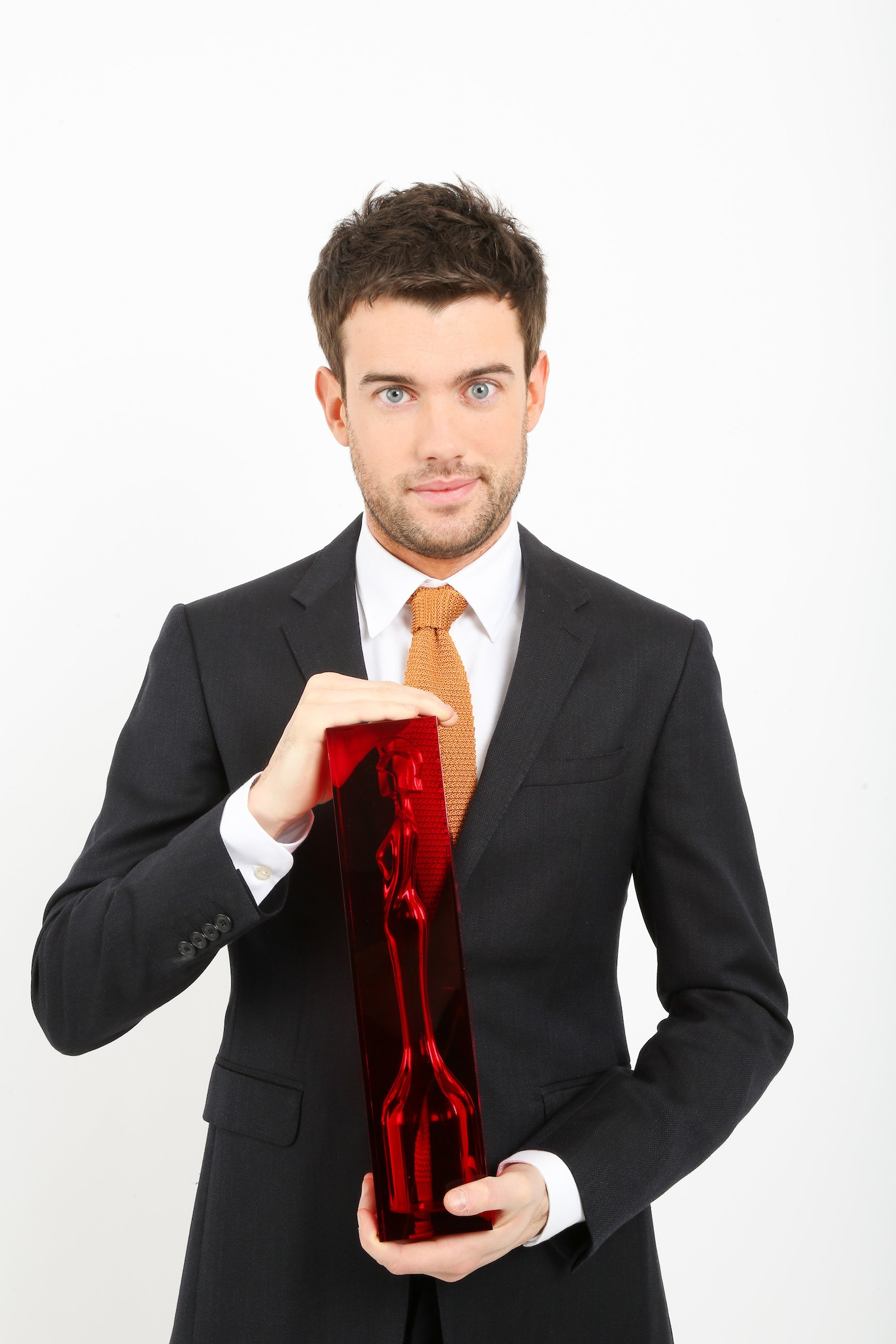 From The Brit Awards  The Brit Awards 2018 on ITV  Pictured: Host Jack Whitehall.  This photograph is (C) The Brit Awards and can only be reproduced for editorial purposes directly in connection with the programme or event mentioned above. Once made available by ITV plc Picture Desk, this photograph can be reproduced once only up until the transmission [TX] date and no reproduction fee will be charged. Any subsequent usage may incur a fee. This photograph must not be manipulated [excluding basic cropping] in a manner which alters the visual appearance of the person photographed deemed detrimental or inappropriate by ITV plc Picture Desk. This photograph must not be syndicated to any other company, publication or website, or permanently archived, without the express written permission of ITV Plc Picture Desk. Full Terms and conditions are available on the website www.itvpictures.com  For further information please contact: james.hilder@itv.com / 0207 157 3052  ITV, TL