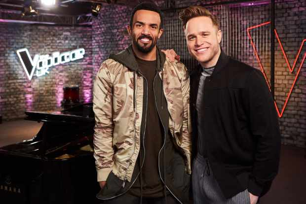 Craig David and Olly Murs on The Voice UK