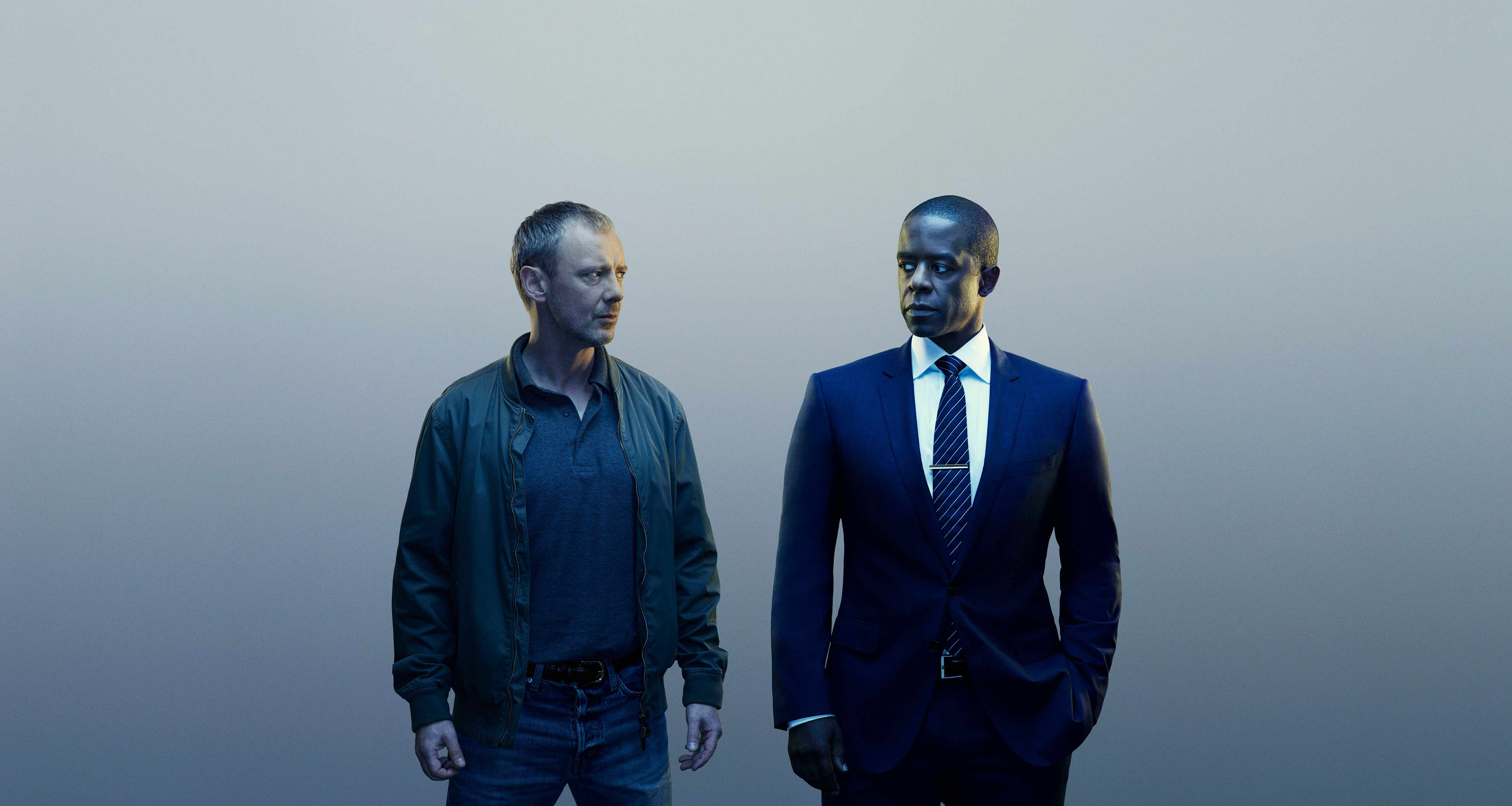 John Simm and Adrian Lester in Trauma (ITV, EH)