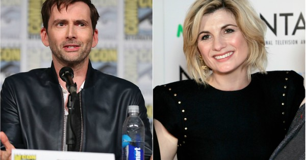 Jodie Whittaker quizzes David Tennant on his Doctor Who accent – and reveals she assumed her Doctor would be posh
