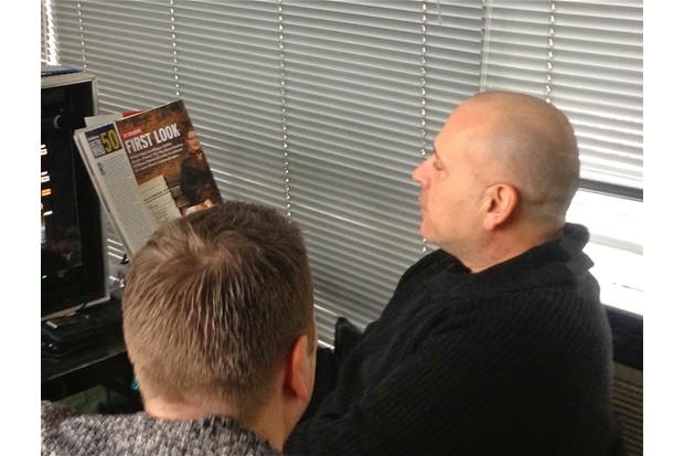 Terry McDonough and Matt Strevens 2013 2