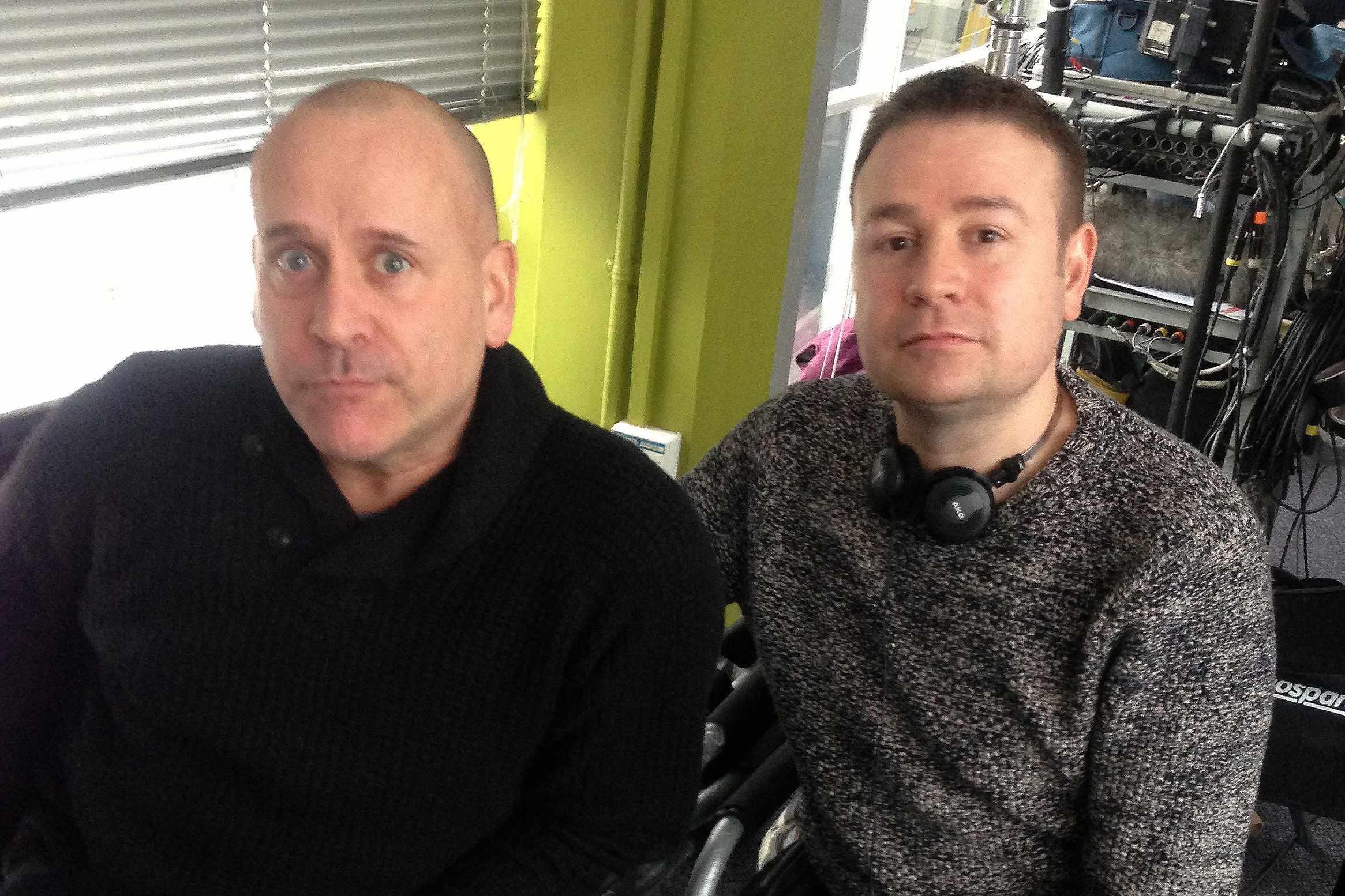 Terry McDonough and Matt Strevens 2013 main