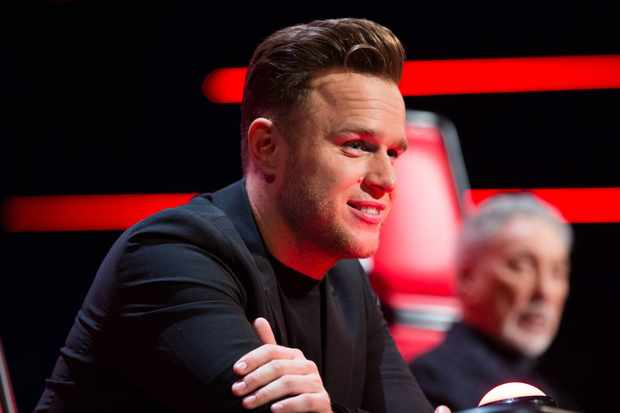 Olly Murs on The Voice UK