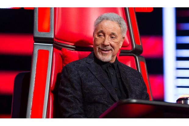 Tom Jones on The Voice UK
