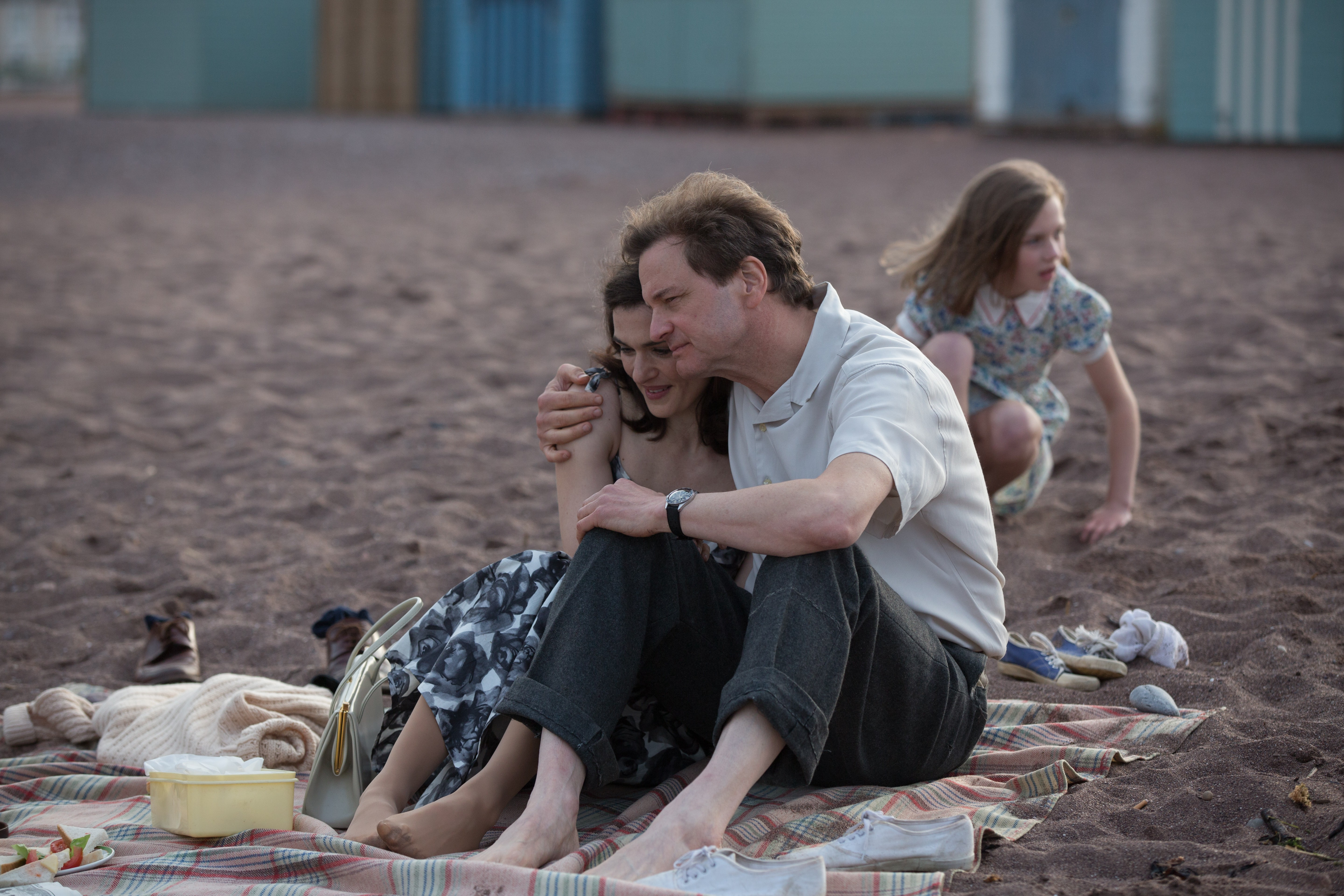 Colin Firth and Rachel Weisz in The Mercy