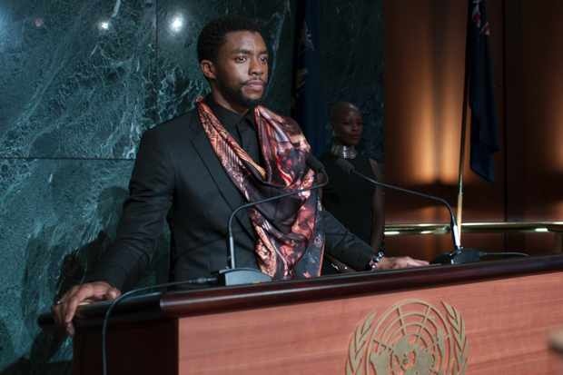 Marvel Studios' BLACK PANTHER..T'Challa/Black Panther (Chadwick Boseman). (Marvel Studios, JG)