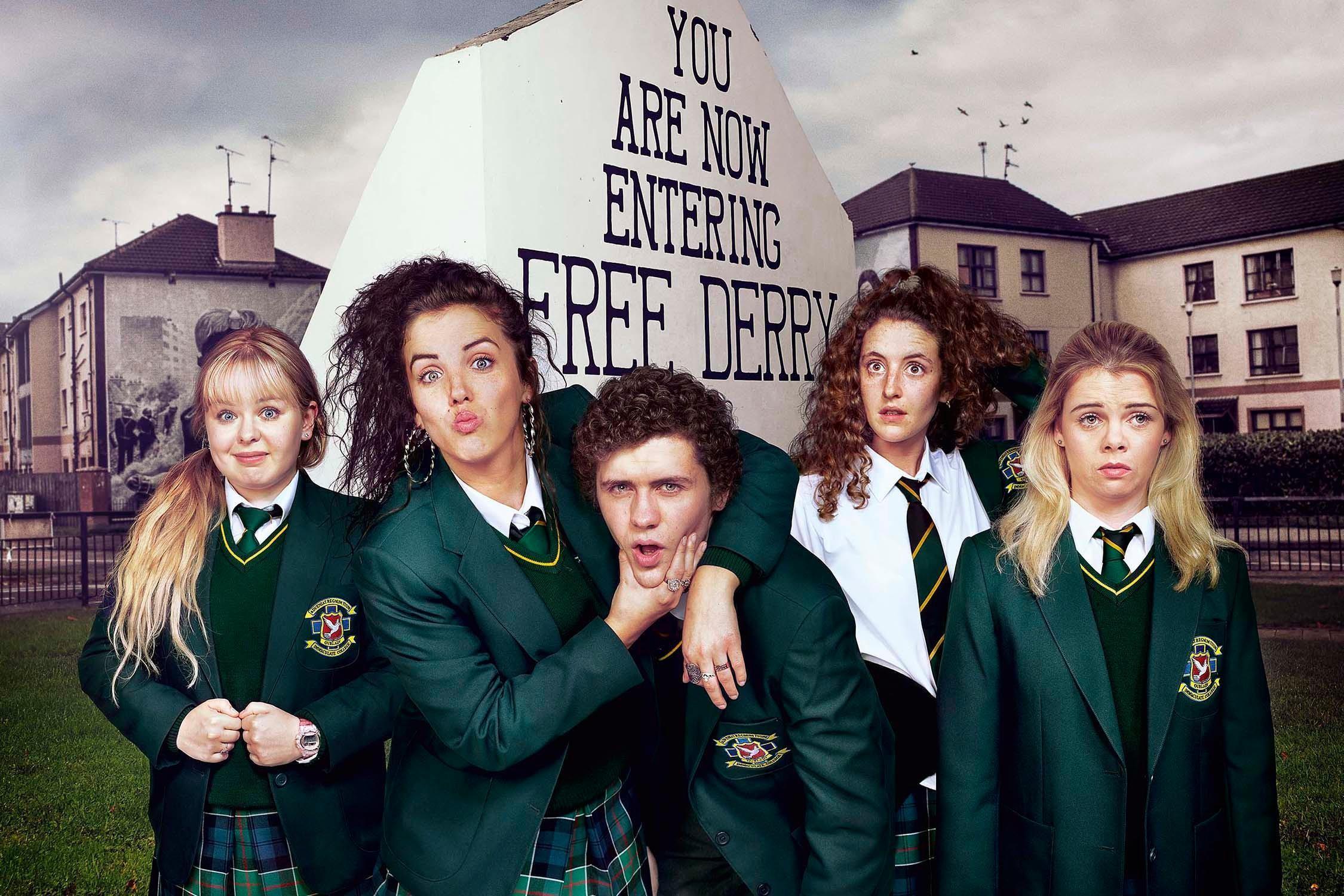 Derry Girls Channel 4