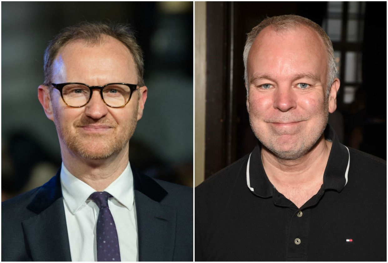 Mark Gatiss and Steve Pemberton (Getty, JG)