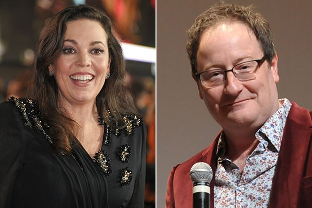 Olivia Colman and Chris Chibnall, Getty, SL